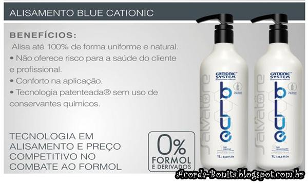Alisamento Blue Cationic