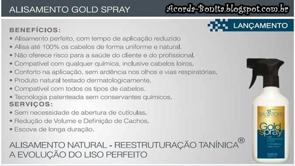 Alisamento Gold Spray