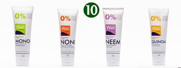 Os 10 Melhores Shampoos sem Sulfatos SHAMPOOS WAII