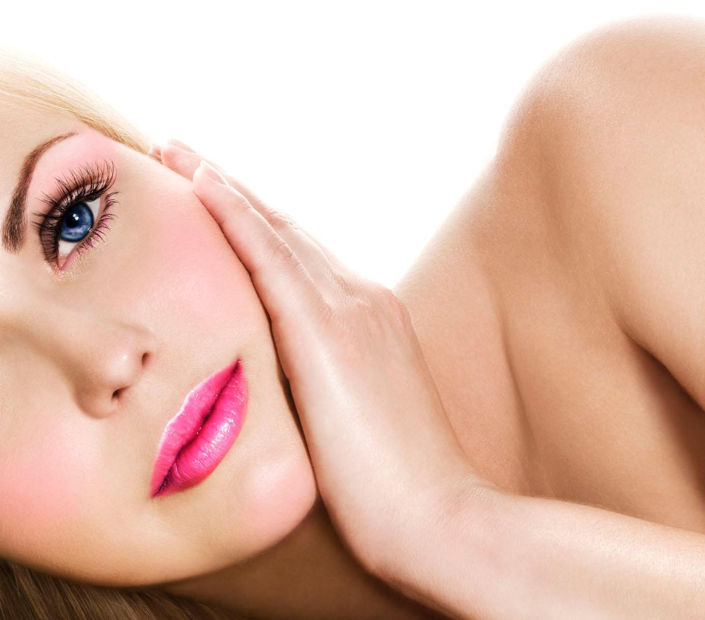 Cuidados com a pele ritual de beleza