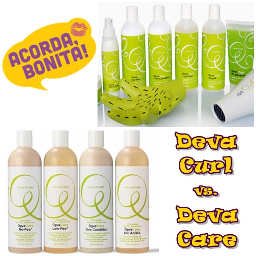 One Condition e No Poo Deva Care Versão mais Potente de Deva Curl