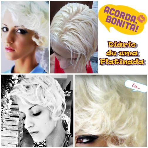 Diario de uma Platinada 1 como platinar os cabelos
