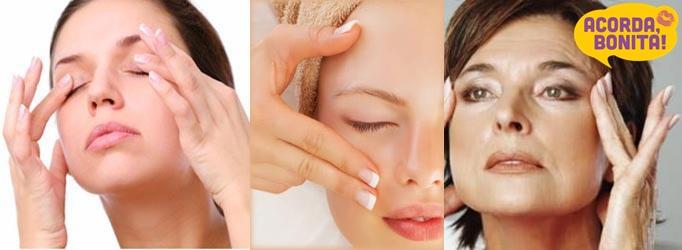 drenagem linfática facial