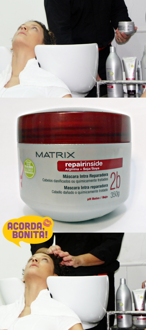 Intracauterização de Soja a Frio de Matrix Repair Inside Máscara