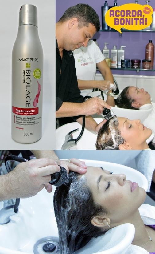 Intracauterização de Soja a Frio de Matrix Repair Inside Shampoo 2