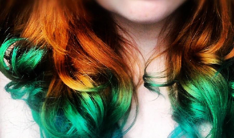Hair Chalk – Como fazer mechas coloridas no cabelo com giz pastel cabelos vermelhos