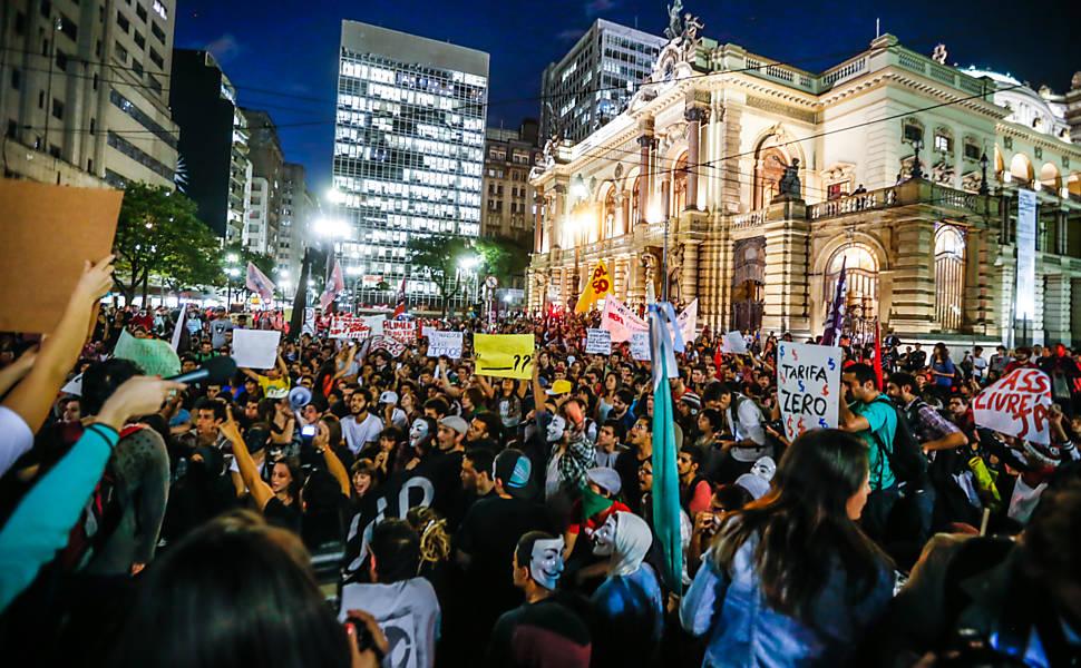 Manifestações Populares protestos em SP