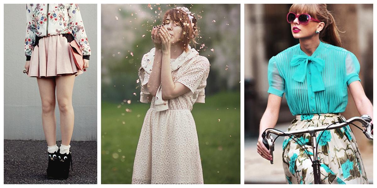 estilo girly moda girlie primavera verão 2014