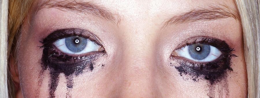 Curso Gratuito de Automaquiagem Online maquiagem borrada