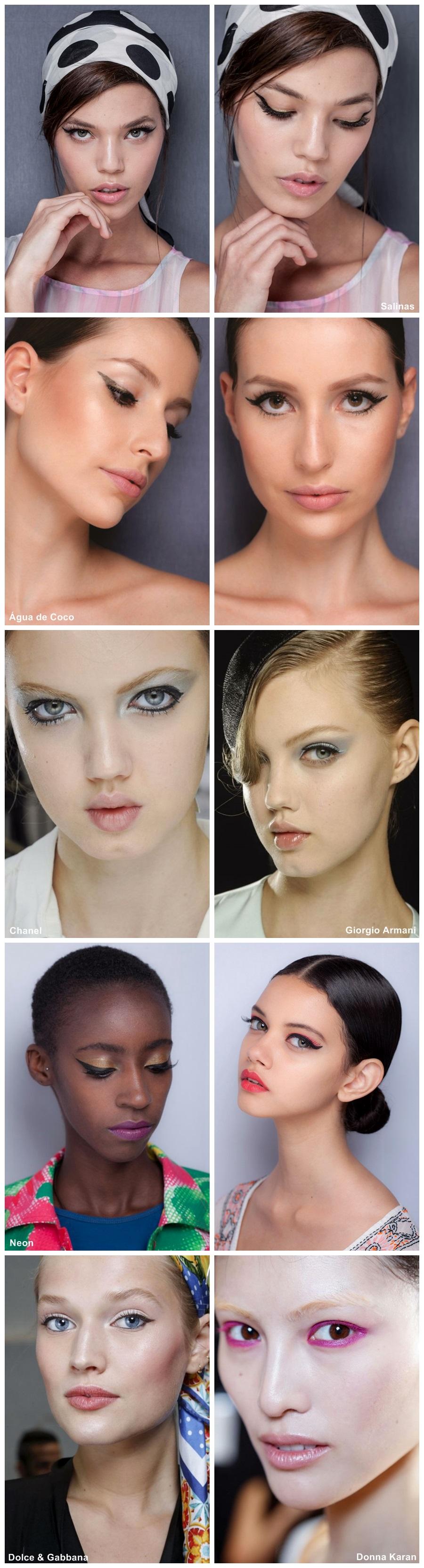 tendência de maquiagem verão 2014 DELINEADO GATINHO