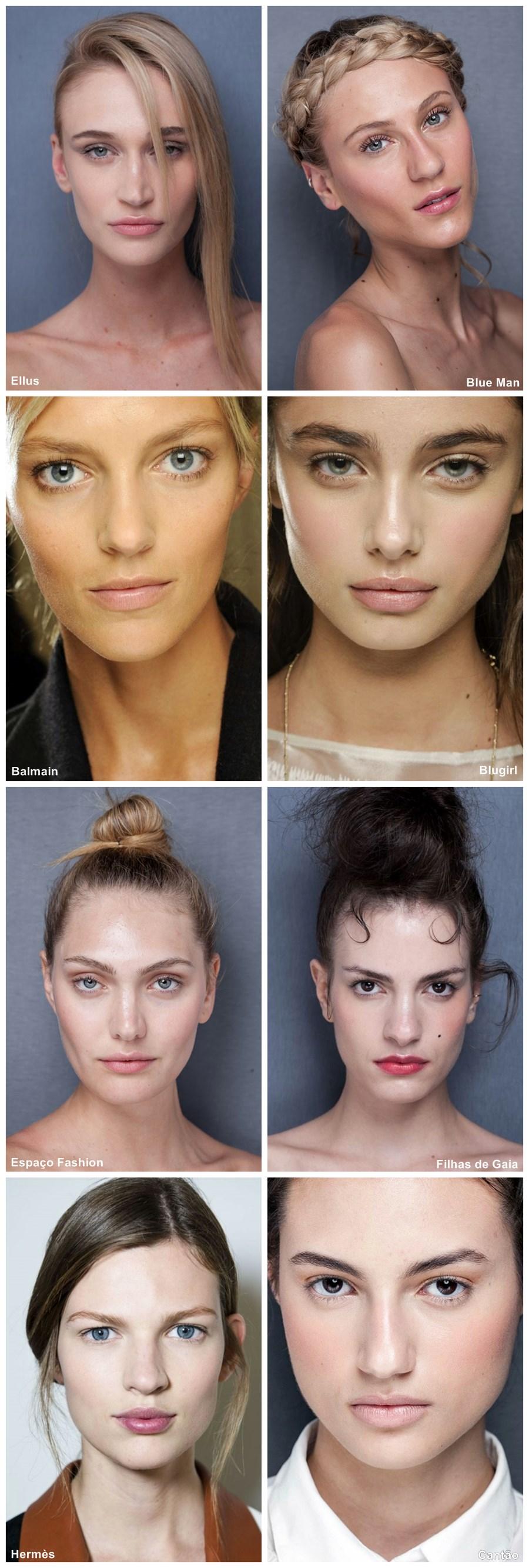 tendência de maquiagem verão 2014 Pele natural