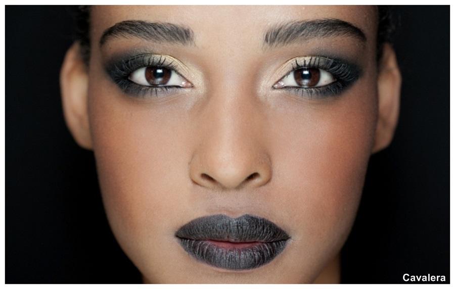 tendência de maquiagem verão 2014 sombra alongada cavalera