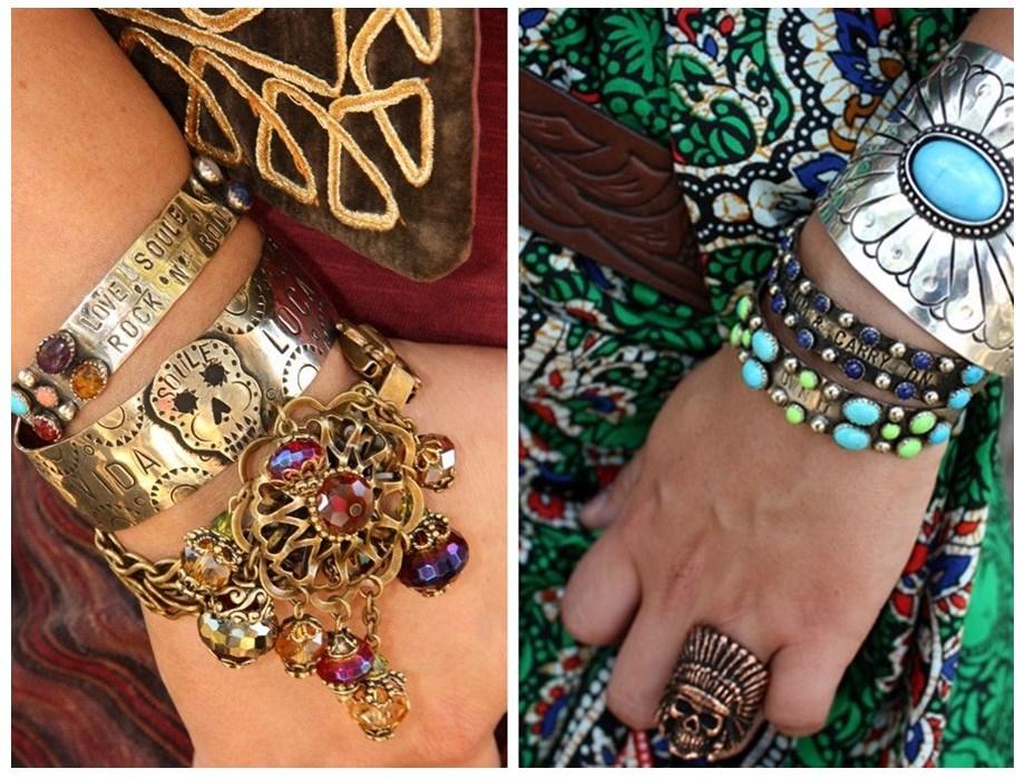 Alerta de tendência Estilo Gypsy – o Cigano contemporâneo acessórios