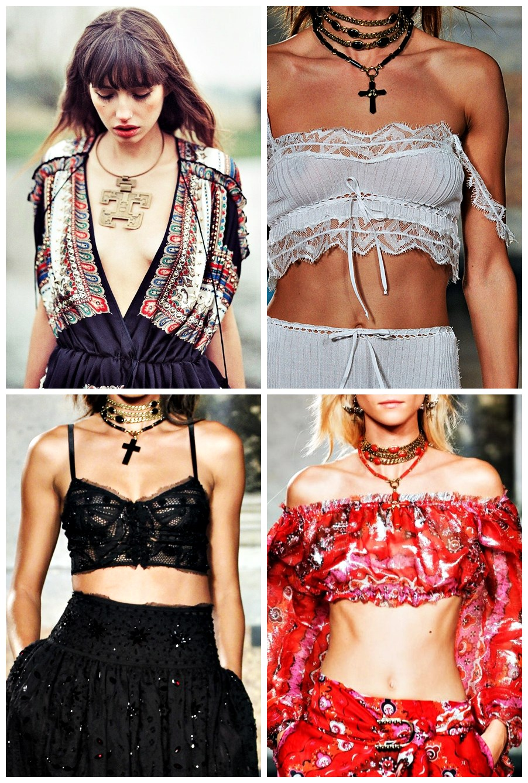 Alerta de tendência Estilo Gypsy – o Cigano contemporâneo como usar cropped