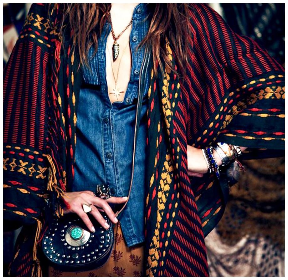 Alerta de tendência Estilo Gypsy – o Cigano contemporâneo como usar mistura de estampas