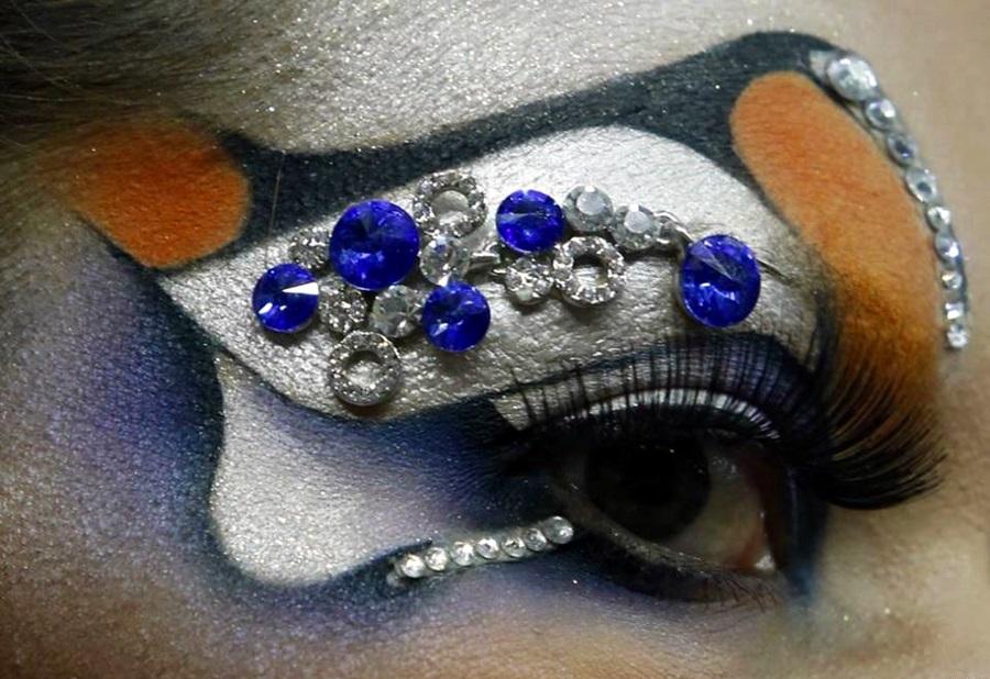 Maquiagem Artistica Passo a Passo Cabelos e Maquiagem Art Stica