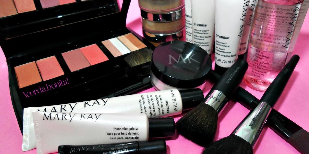 Maquiagem Mary Kay - Cremes e pós
