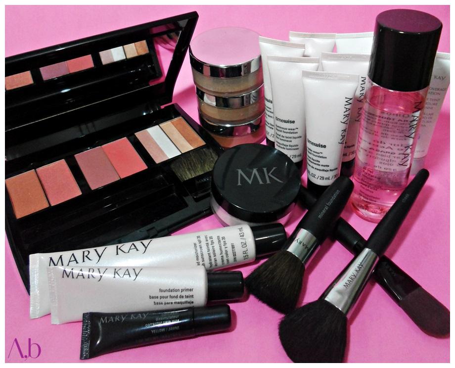 Maquiagem Mary Kay - Produtos de maquiagem