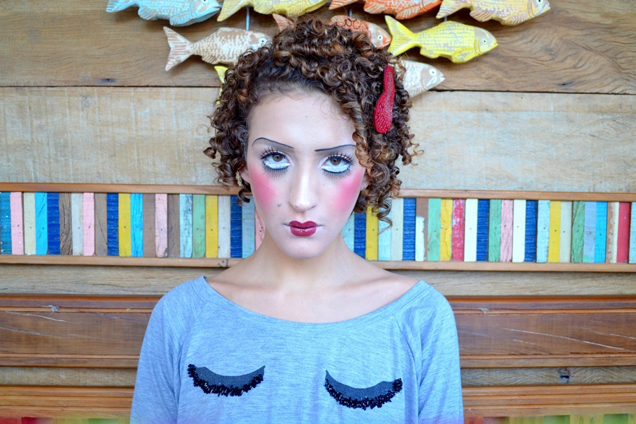 Maquiagem Artistica Passo a Passo Maquiagem Art Stica Boneca de