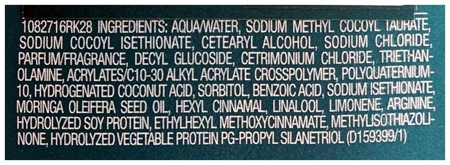 Shampoo em creme redken curvaceous composição ingredientes