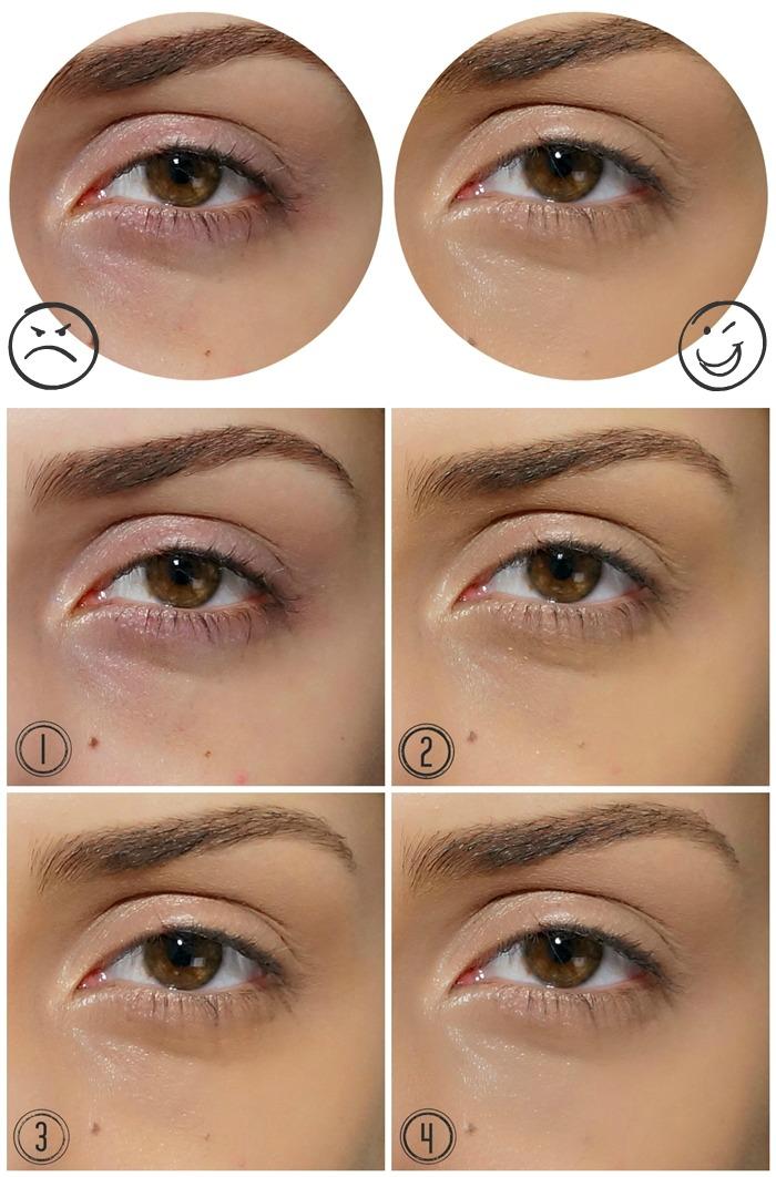 Maquiagem para disfarçar olheiras 2018