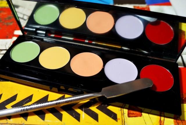 Como maquiar olheiras passo a passo corretivo colorido