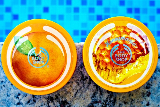 Resenha dupla The Body Shop Body Butter Satsuma e Honeymania
