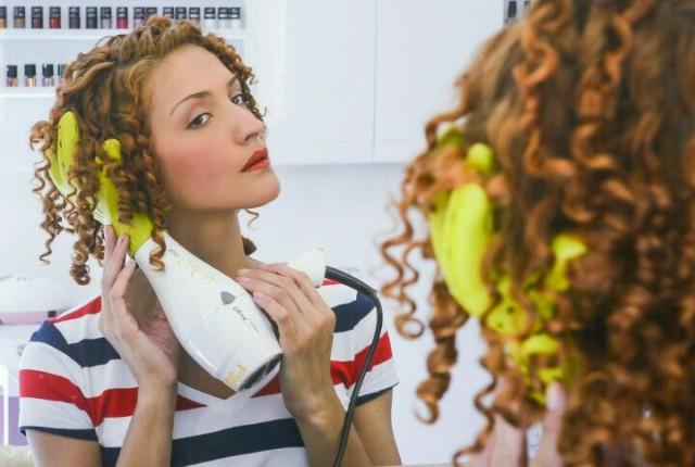 como secar cabelo cacheado com difusor dicas