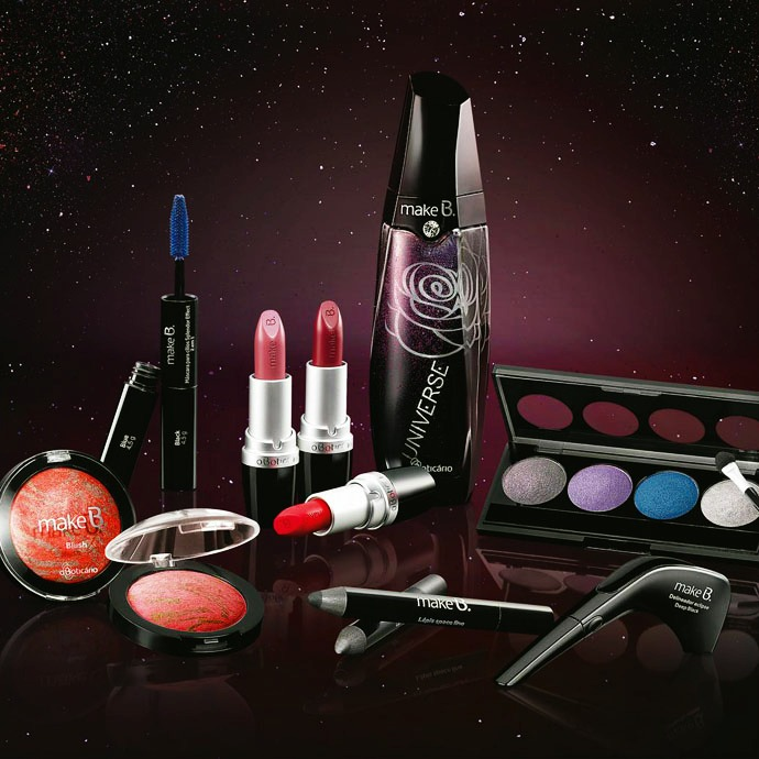 Make B. Universe Collection de O Boticário Produtos lançados maquiagem 2015