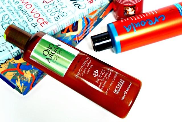 Os melhores shampoos sem sulfatos baratos Oro Argan Monoi Bioderm