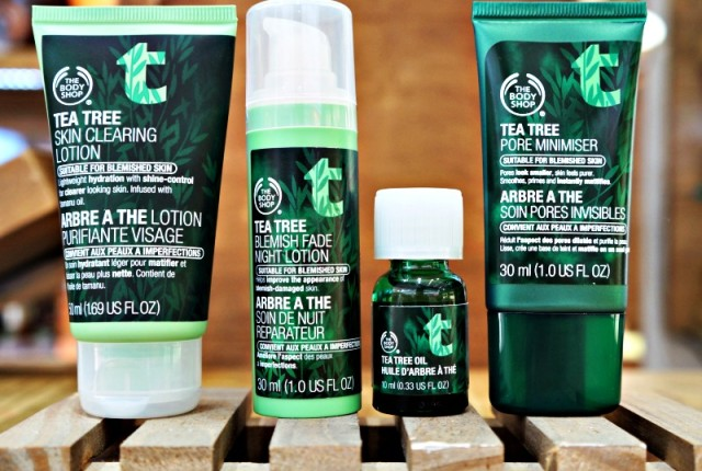 Tratamento facial – Skincare The Body Shop Tea Tree Oil, Pore Minimiser, Blemish Fade