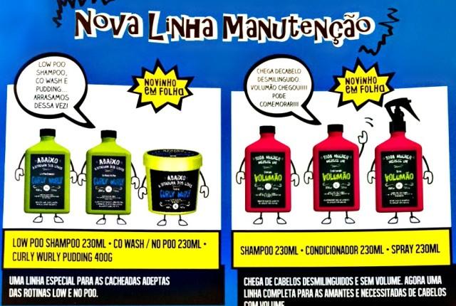 Lançamento Lola Cosmetics - Curly Wurly e Volumão No Poo e Low Poo