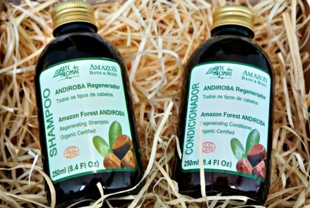 Resenha Shampoo e Condicionador Orgânicos de Andiroba Arte dos Aromas