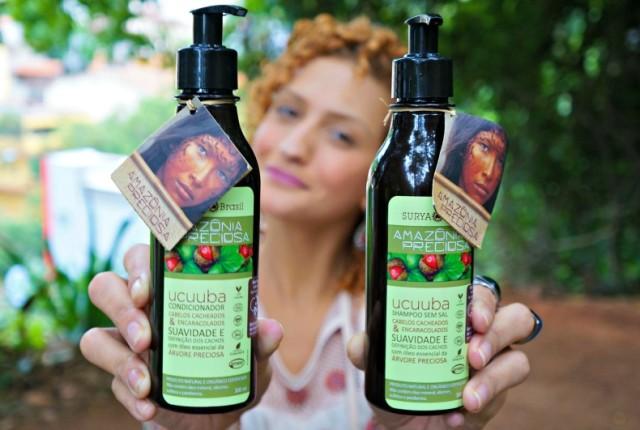 Surya Amazônia Brasil Preciosa Ucuuba para cabelos cacheados e ondulados resenha