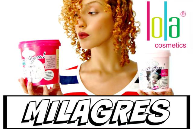 VÍDEO resenha Milagre Diet X Milagre Clássico Lola Cosmetics Karina Viega