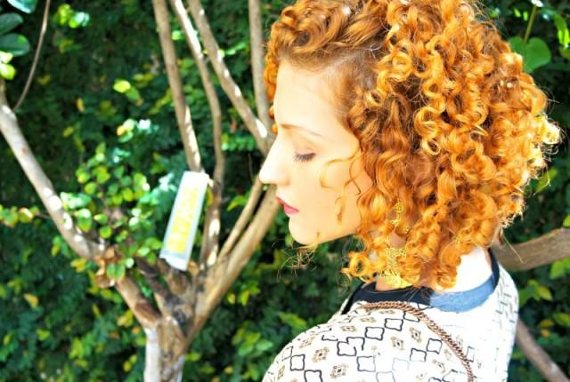 Novo B Leave in Deva Curl – Resenha e como aplicar cabelo ruivo cacheado