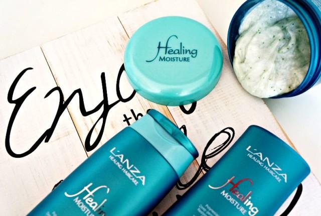 Lanza Healing Moisture Tamanu Cream Shampoo, condicionador Kukui Nut Conditioner e máscara Moi Moi Hair Masque