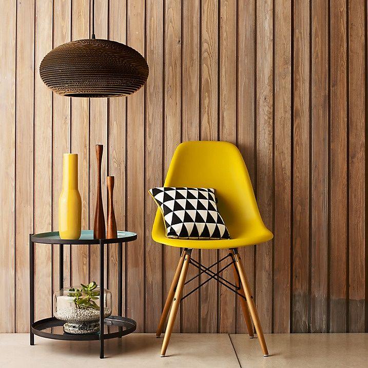 Dica de decoração barata para leigos cadeira amarela