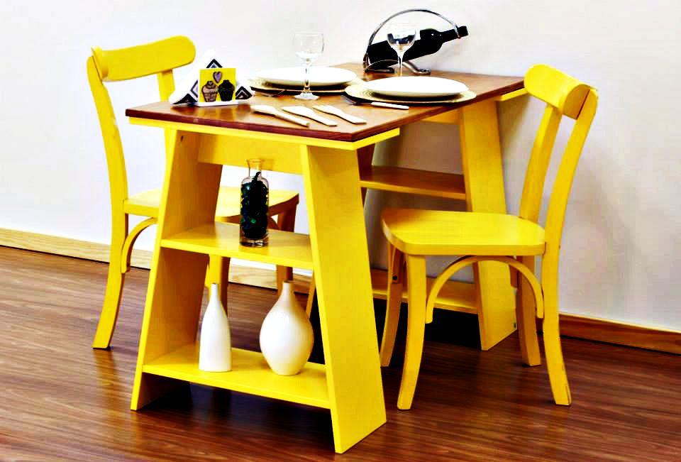 Dica de decoração barata para leigos cavaletes mesa