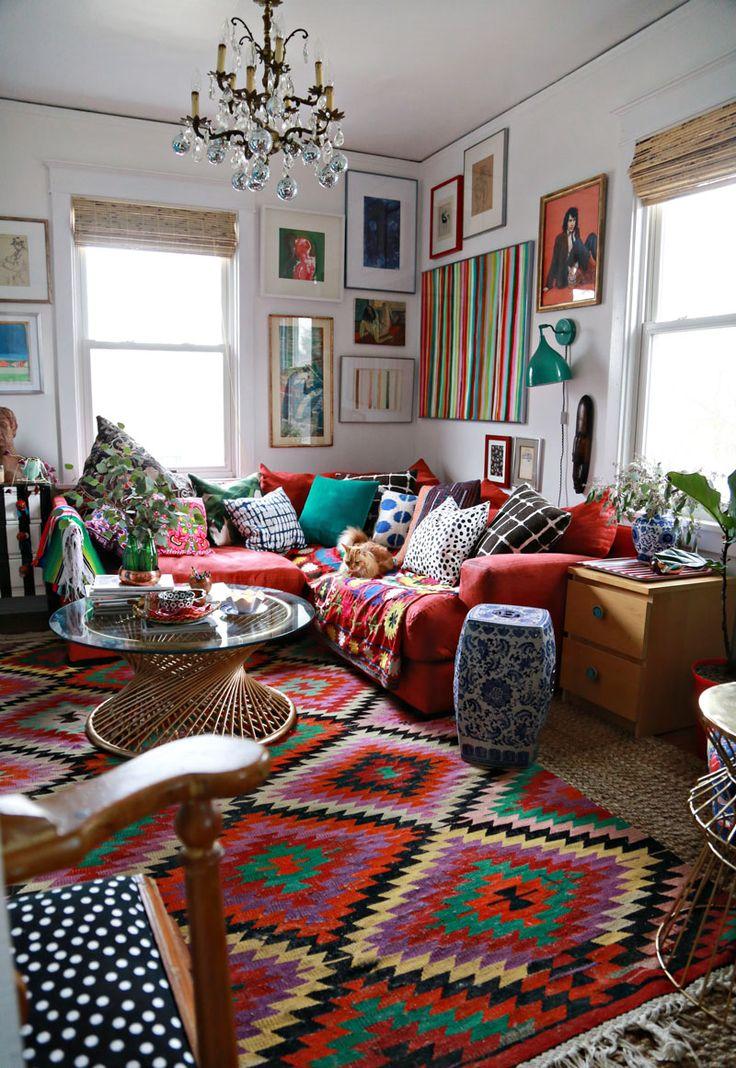 Dica de decoração barata para leigos tapetes e mantas
