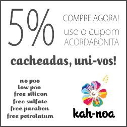 Kah-Noa, produtos para No e Low Poo