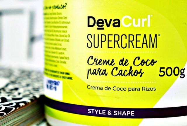 SUPERCREAM DEVA CURL RESENHA CREME DE COCO PARA CACHOS