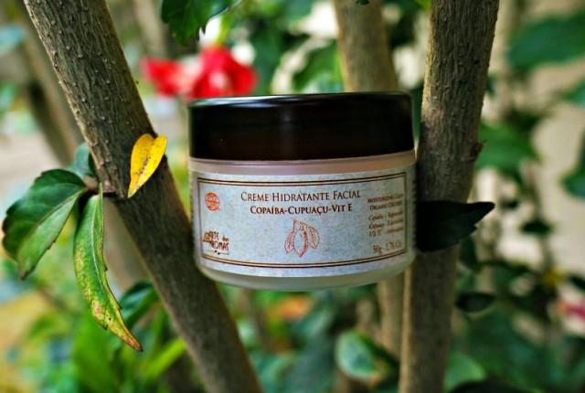 resenha Creme Hidratante Facial Orgânico de Copaíba, Cupuaçu , Tea Tree e Vitamina E Arte dos Aromas 2