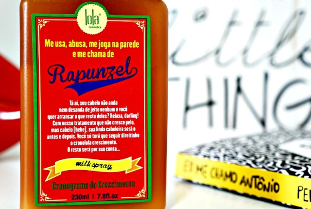 Leave-in Milk Spray Rapunzel Lola Cosmetics resenha