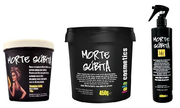 Ritual Morte Súbita Lola cosmetics resenha Shampoo sólido, Máscara e Spray Reparação Total