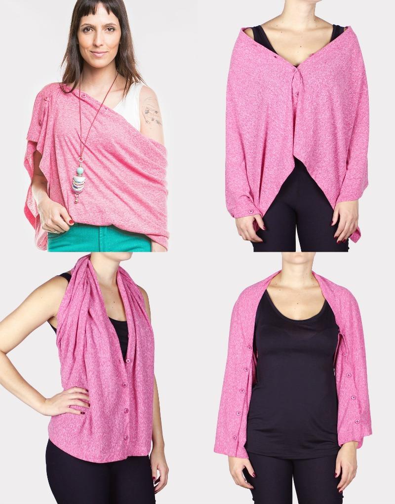 Tie moda sustentável blusa camaleão