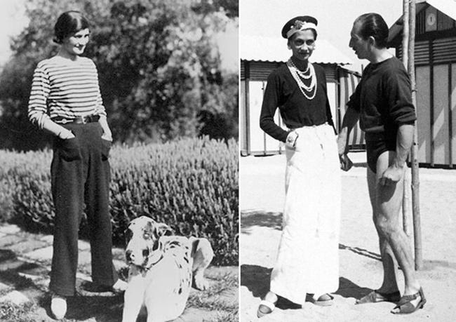 omo usar calça pantalona look coco chanel anos 30