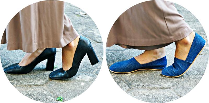 como usar calça pantalona sapatos