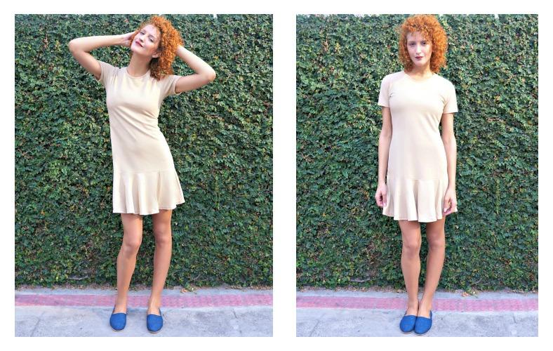 1001 Formas de Usar Vestido Nude Básico looks outono inverno Vestido Ciranda Tiê Moda Sustentável