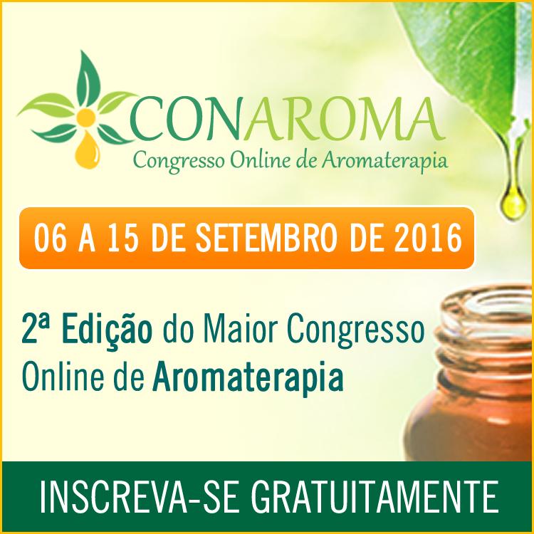 CONAROMA - Congresso de Aromaterapia Online e Gratuito: Como se inscrever